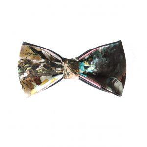 fantasy print bow tie