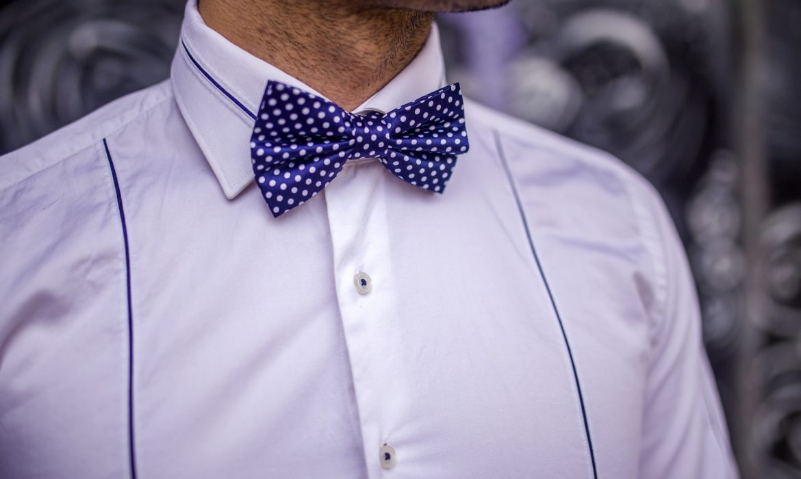 fashion statement with bow tie