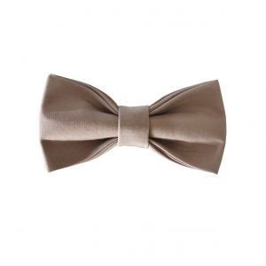 Uni brown bow tie