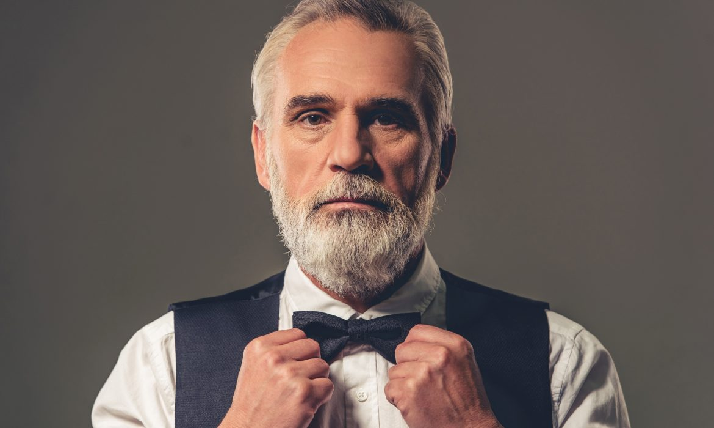 casual bow tie look